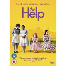 The Help (Kathryn Stockett Emma Stone Viola Davis) Region 4 New DVD