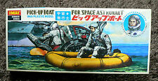 PICK UP BOAT FOR SPACE ASTRONAUT  VINTAGE MODEL KIT IMAI JAPAN