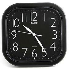 Casio Analog Quartz Black Resin Wall Clock IQ02-1R