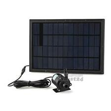 12V Solar Panel Power Water Pump For Fountain Pool Pond Garden Plants Aquarium
