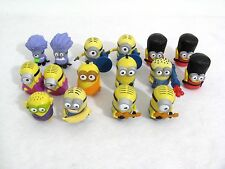 Lot of 16 Despicable Me Minions McDonalds Happy Meal Toys From 2013 2015