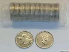 CANADA 1999 25 CENTS APRIL, ORIGINAL B.U. ROLL (40pcs )