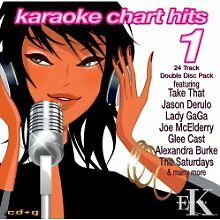 Karaoke Chart Hits Vol1   2 Disc CDG Set NEW & SEALED