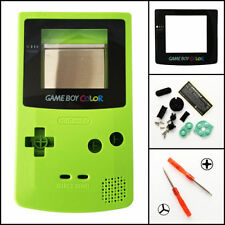 GBC Nintendo Game Boy Color Replacement Housing Shell Screen Lens Kiwi Green USA