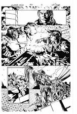 MARVEL WOLVERINE ORIGINS #47 PAGE 12 ORIGINAL ART by WILL CONRAD