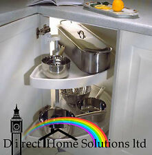 KITCHEN CORNER UNIT CAROUSEL HALF CIRCLE SET 620mm SPINDLE *FREE 24H DELIVERY*