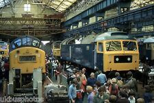 British Rail Class 47 47375 Crewe Works Open Day  Rail Photo