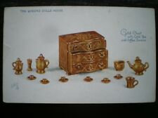 POSTCARD THE QUEENS DOLLS HOUSE TUCK OILETTE