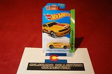 Hot Wheels 13 Chevy Camaro Special Edition - 2015 HW Wrksp - 232/250 1:64 Yellow