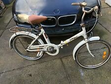 VINTAGE RARE RETRO RALEIGH STEPTHROUGH BIKE WITH 22 INCH WHEELS MELBOURNE PICKUP