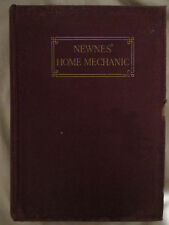 NEWNES' HOME MECHANIC - VOL.4 - EDWARD MOLLOY - Hardback - Used