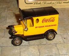 LLEDO - DAYS GONE - 1920 MODEL T FORD VAN - COCA-COLA AT SODA FOUNTAINS - BOXED