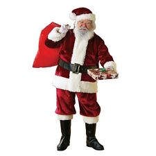 Rubie's Regency Plush Christmas Santa Claus Suit Adult Mens Costume, X-Large