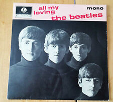 "The Beatles 'All my Loving' 4 songs Mono 7"" 45RPM vinyl EP with Center 8891 UK"