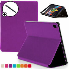 Purple Clam Shell Smart Case Cover for Lenovo Tab 3 Essential 7-Inch + Stylus
