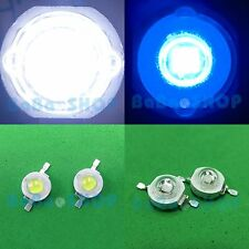 10pair 3W Royal Blue 455nm + 3W Cool White 10000K Power LED Light Aquarium Plant