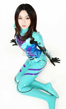 Latex Rubber EVA Asuka Langley Catsuit Bodysuit Cosplay Plugsuit Costume