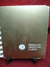 FRANKLIN MINT 1968 MEDALLIC GREETING CARDS - LIMITIED EDITION GREETING CARDS