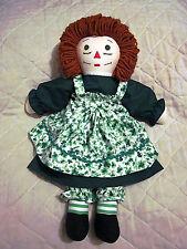 20 Inch Irish Raggedy Ann Doll