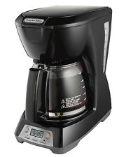 Proctor Silex 43672 Digital 12-Cup Programmable Coffee Maker, Black