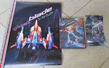 Ghost Blade Original Release + Cool Sticker + Poster Sega Dreamcast The * NEW
