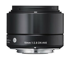 Sigma 19mm f2.8 DN 'A' Lente-Sony e si adattano in Nero (UK stock) nuovo con scatola