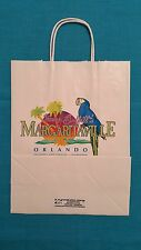 "JIMMY  BUFFETT'S  MARGARITAVILLE           ""ORLANDO  GIFT SHOPPING  BAG""     NEW"