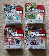 Transformers Generations lot of 4 Skrapnel Tailgate Swerve Cosmos MOSC NEW G1