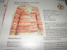 Magic Cardigan Knitting Pattern  by Universal Yarn
