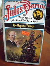 The Begum's Fortune Vintage PB 1st ACE ED  VG  Jules Verne  1958 Fitzroy Edition
