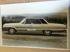 "12 By 18"" Black & White PICTURE of 1966 Dodge Polara 4 door hardtop"