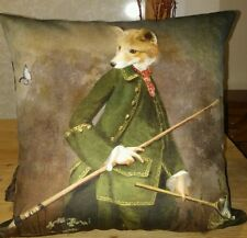 Fox Charlotte Bird Home Room Decor Pillow Case Cushion Quality Velvet Cover