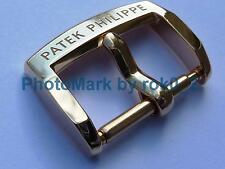 GENUINE PATEK PHILIPPE 18K SOLID YELLOW GOLD 16mm TANG PIN BUCKLE CLASP BAND NEW