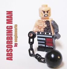 LEGO Custom - Absorbing Man - Marvel Superheroes shield wolverine deadpool