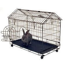 Indoor Bunny Rabbit Cage Crate Kennel Small Pet Animal Guinea Pig Coop Play Pen