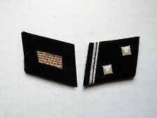 WW2 German Elite Hauptscharführer (Sgt. Major) Collar Tabs