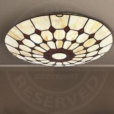 A2318N Decken Leuchte Ø400mm/ 2x60W/ Bronze/ Mediterran/ Wand Lampe