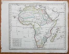 HERISSON: Map Continent Africa - 1800