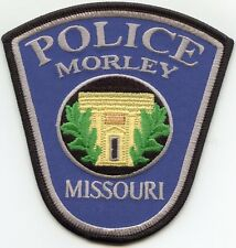 new style MORLEY MISSOURI MO POLICE PATCH