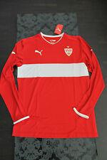 PUMA VFB Stuttgart Away manica lunga maglia 2013 senza pubblicità nuovo con etichetta taglia L