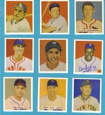 1949 Bowman Baseball Reprint Team Set: New York Yankees (22 cards)