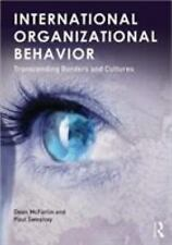INTERNATIONAL ORGANIZATIONAL BEHAVIOR [9780415892568] NEW PAPERBACK BOOK