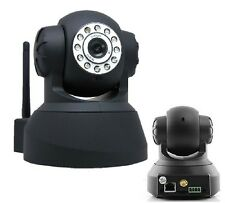 TELECAMERA IP CAMERA PER INTERNO WIRELESS WI-FI CAM VIDEOSORVEGLIANZA ENTRATA SD