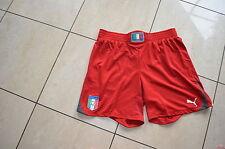 Puma Torwart Hose neu Größe XXL Italien rot Wappen