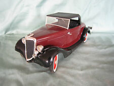 AC569 SOLIDO HACHETTE FORD ROADSTER 1934 1/18 VOITURES PRESTIGE FASCICULE