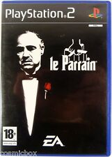 PlayStation 2 Le PARRAIN jeu video complet pour console Sony don corleon mafia