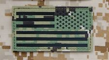 Infrared NWU Type III IR Reverse US Flag Patch AOR2 US Navy SEAL NSW #TEAMS