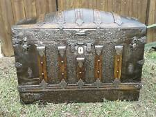 1885 Antique dome top trunk