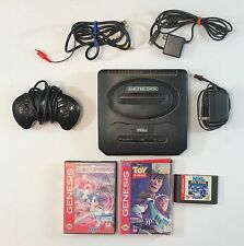 SEGA GENESIS Model 2 system console lot SONIC Hockey Toy Story