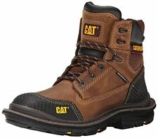 NEW Caterpillar Men's Fabricate 6 Inch Tough WP Work Boot - Brown - Size: 7